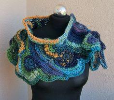 50 Beste Afbeeldingen Van Freeform Haken Freeform Crochet Scarves