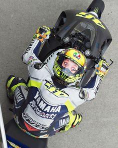 Rossi et son casque AGV Winter Tests 2014