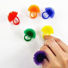 Spiky Fidget Rings | Fidgets and Finger Tools | Therapy Shoppe | AA-Spikyrings