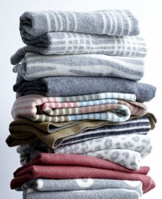 Klippan blankets eco wool and organic cotton  www.klippan.be www.klippan.nl