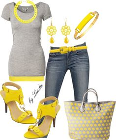 """Sun Shiny Day"" by lindakol on Polyvore"