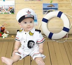Vestido infantil de marinero