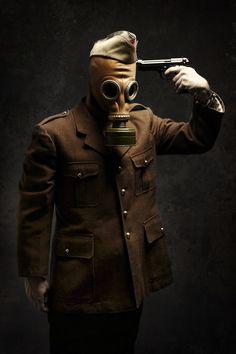Gasmask Series by F. Doruk Seymen, via Behance