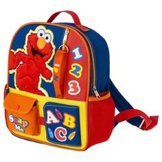 Sesame Street Elmo Backpack - Blue : Target Mobile