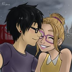 Hiro Hamada and Honey Lemon