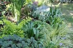 forget flowers - these plants create great combinations! This is what I need to do!