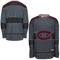 Mens Montreal Canadiens Reebok Storm Cross Check Premier Jersey Montreal  Canadiens bc2b20cce