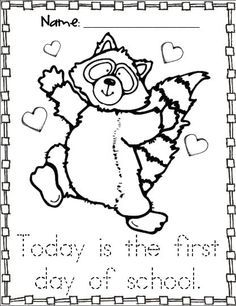 raccoon tune coloring pages - photo#26