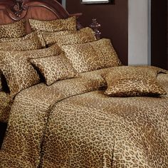 Leopard Bedding Collection Bedroom Animal Bag