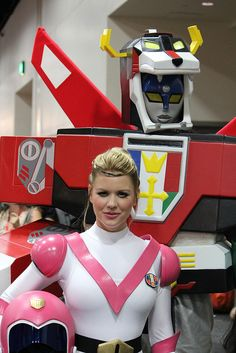 Voltron - where can I get that Voltron robot behind the girl?