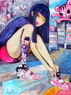 tokidoki_Simone_Legno_sneaker_pimps_color_ink_book