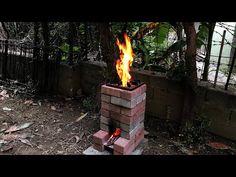 ROKET OCAK NASIL YAPILIR? | Ocakta İlk Yemek | NOHUTLU MANTAR YEMEĞİ ( DIY ) Brick Rocket Stove - YouTube Diy Fire Pit, Fire Pits, Homestead Survival, Homesteading, Miniatures, Amazing, Outdoor Decor, Projects, Barbecues