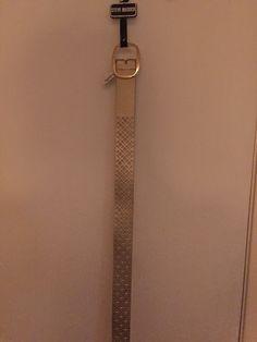 70bb73598b23 Steve Madden Metallic Reversible Belt Rose Gold Size Large New NWT  fashion   clothing