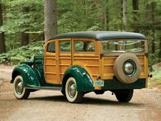 1937 Packard Six Station Wagon by Baker-Raulang | Hershey 2014 | RM AUCTIONS