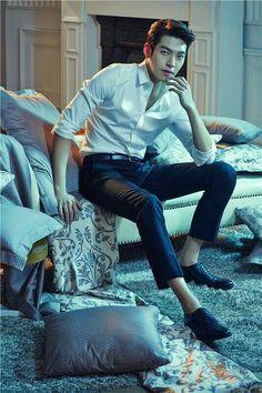 Kim Woo Bin for Mercury Textile. Asian Actors, Korean Actresses, Actors & Actresses, Kim Woo Bin, Korean Men, Asian Men, Handsome Korean Actors, Yoo Ah In, Kdrama Actors