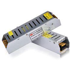 LED 전원 공급 5A 60 와트 및 100 와트 120 와트 150 와트 200 와트 LED 드라이버 전원 어댑터 스위칭 110 볼트 220 볼트 12 볼트 24 볼트 변압기 LED 스트립
