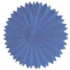 Tissue  Fan - Midnight Blue