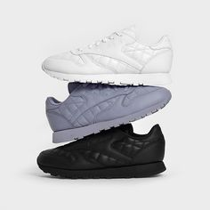 baaebba699 The Reebok Classic Gets a Premium Quilted Leather Treatment. Vans Sneakers ReebokAdidasKlassisches ...