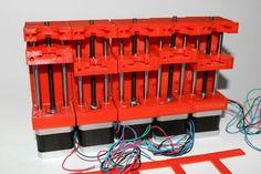 3d Printer syringe rack