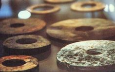 Stonedisks of Baian-Kara-Ula  During an expedition to the hardly accessible mountain range of Baian-Kara-Ula which lies on the borderland between Tibet and China, the Chinese archeologist Chi Pu Tei discovered several cave burial sites which contained strange, only about 4 feet 4 inches tall skeletons, whose heads were oversized in relation to their otherwise slender frame.    In each of the total of 716 graves he found a stonedisk with a diameter of about 1 foot and a thickness of a third…