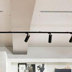 Suspended Track Lighting:
