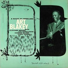 "Art Blakey ""A Night At Birdland With Art Blakey Quintet, vol. 2"" - Blue Note Records BLP 1521 12"" LP Jazz Vinyl Record Album Cover Design by Reid Miles Photo by Francis Wolff"