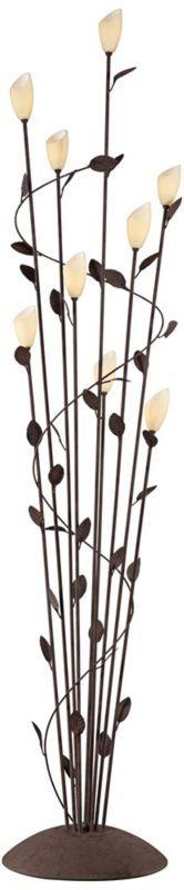 Arbor Twisted Vine Metal Rust 65-Inch-H Floor Lamp - #EUY7871 - Euro Style Lighting