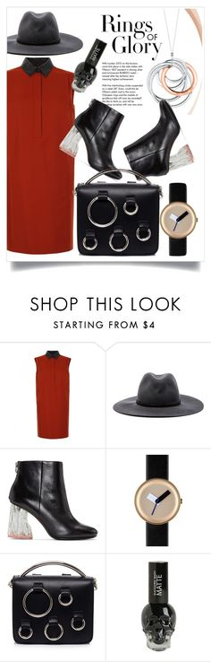 """""""collared shirt"""" by soniapan97 on Polyvore featuring Gucci, Tiffany & Co., rag & bone, Acne Studios, Nomad and MSGM"""