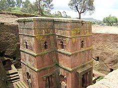 Maailmanperintöluettelo – Wikipedia, Lalibelna kallioon hakatut kirkot, Etiopia 1978