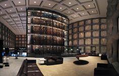 Libro raro de Yale y biblioteca del manuscrito