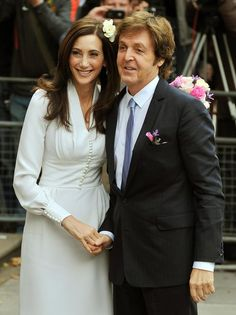 Sir Paul McCartney and Nancy Shevell married in London in October 2011