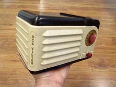 Vintage 1938 RCA Victor Little Nipper Art Deco Old Depression Era Bakelite Radio | eBay