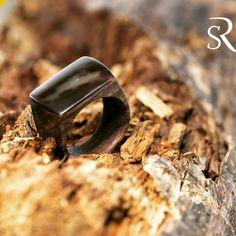 Handmade #wooden #ring #ceviz # bağ yüzük