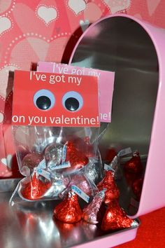 Did you know we buy over a million wiggle eyes a year at Mother Goose Time for our curriculum kits? So of course, we LOVE this cute valentine gift idea. Try making a healthy snack option as an alternative to the chocolate. Kids love to make mixtures such as pretzels, dry cereals, raisons and other dried fruit.
