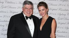 John Symond and Amber Keating attended one of Sydney's most lavish events - the Sydney Children's Hospital Gold Dinner at the Australian Technology Park Conference Centre.