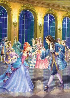 Shall We Dance by Zorina Baldescu, Cinderella