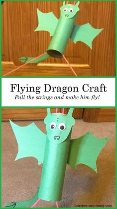 Dragon Kid, Dragon Party, Dragon Birthday, Fairy Tale Activities, Stem Activities, Creative Activities For Kids, Camping Activities, Crafts To Make, Fun Crafts