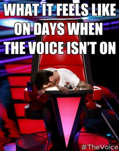 Is it Monday yet? #TheVoice