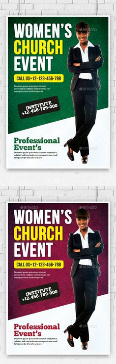 examples of flyers for kickoff women ministry
