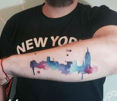 20 Magnificent Skyline Tattoos                                                                                                                                                                                 Más
