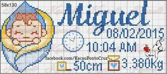 Cross Stitch Boards, Bullet Journal, Cross Stitch For Baby, Children's Comics, Boy Names, Toddler Chart, Cross Stitch Letters, Cross Stitch Alphabet, Names