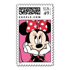 Make each letter a special delivery! Minnie Mouse US postage stamp. Put a personal touch on your mail. Disney stamps at Asher Socrates pinner board promotions. Minnie Mouse Party, Mickey Minnie Mouse, Minnie Mouse Fabric, Walt Disney, Iphone Wallpaper Quotes Love, Disney Tickets, Barbie Birthday, Vintage Mickey, Disney Scrapbook