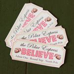 Loads of free printables   {Polar Express Printables} what a great movie for older children.