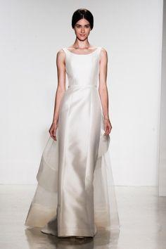 So classy - Aubrey style wedding gown!  1950s inspired wedding gown. Amsale SP14 Dress 40