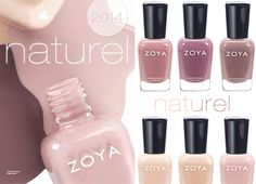 Zoya Naturel Spring 2014 Nail Polish Collection - Coming January 2014