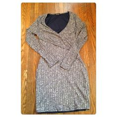 Gray knit body contour dress! This is such a cute dress! Perfect for going out to get drinks or on a date!! It's very form fitting, so it'll really show off your curves! It's a medium but fits more like a small! It has never been worn! It has no holes or stains! It comes from a smoke free environment! I don't hold or trade! Please don't negotiate the price in the comments! I only sell through poshmark! Do not ask! Forever 21 Dresses Mini