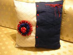 Creare per Credere: Cuori e fiori da......vecchie camicie!!!!