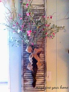 using old shutters