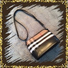 CROSSBODYpurse New, no tag, combination of canvas and man made leather Bags Crossbody Bags