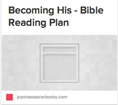 Create a Bible reading plan.  Each day you will read approximately 2 chapters from the Old or New Testament as well as one chapter from Psalms or Proverbs.
